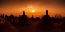 Wisata Jogja 3. Borobudur Sunrise – Museum Ullen Sentalu – Lava Tour Merapi.